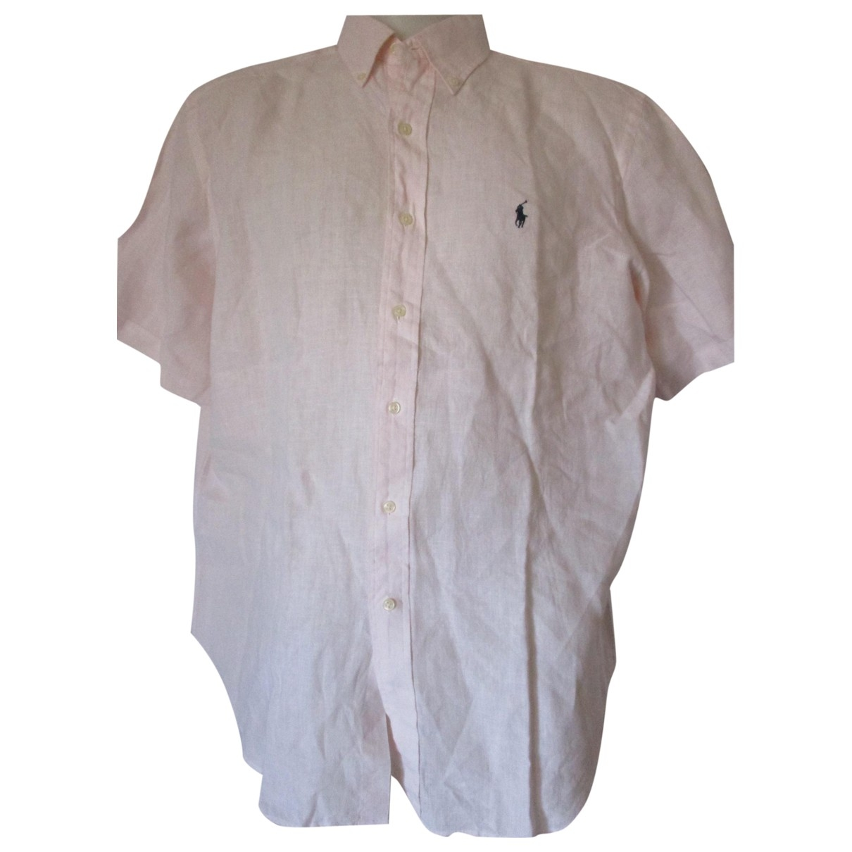 Ralph Lauren \N Pink Linen Shirts for Men XL International