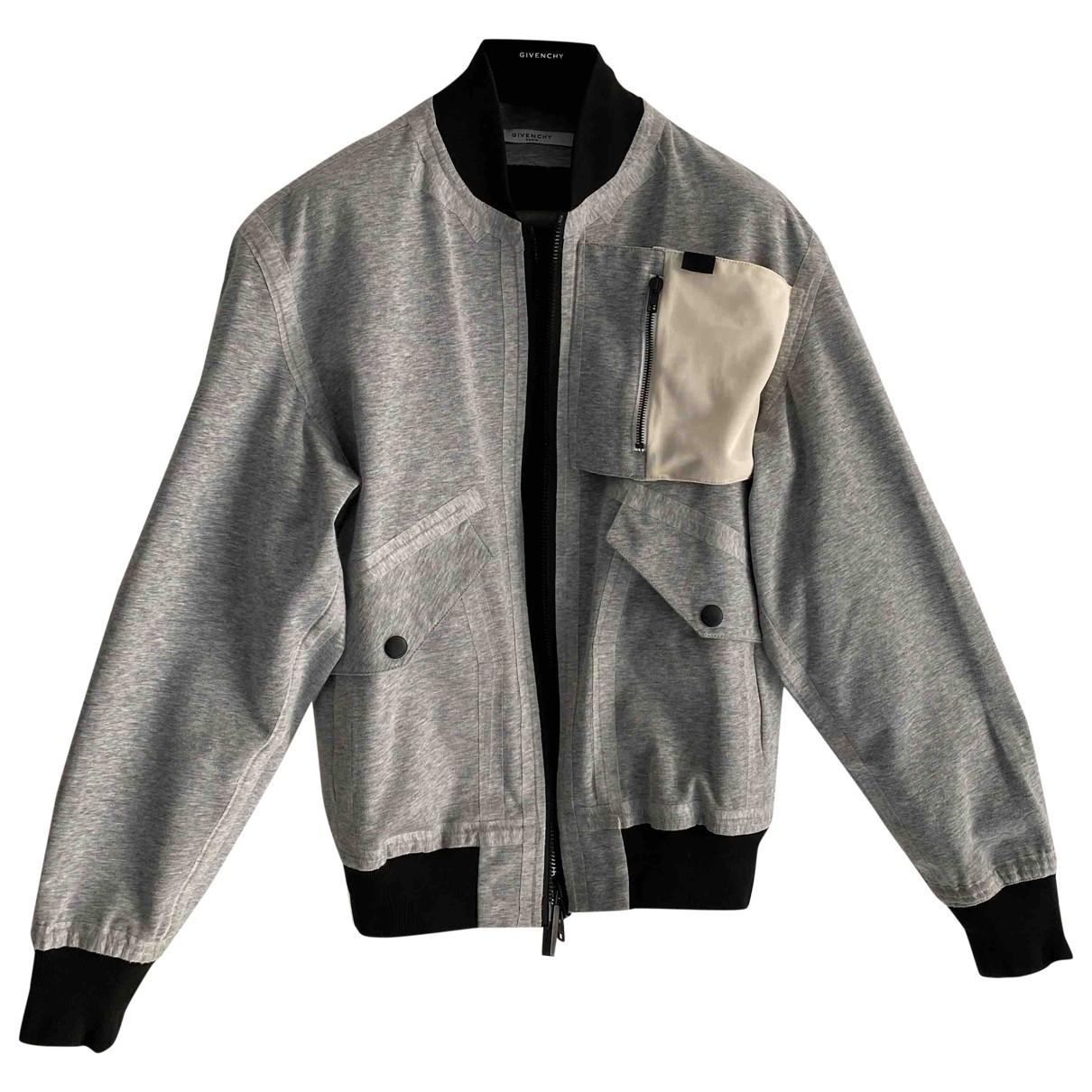 Givenchy \N Jacke in  Grau Baumwolle