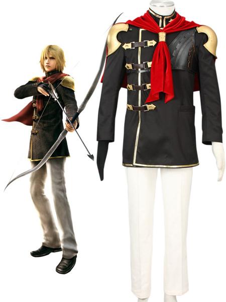 Milanoo Final Fantasy Type-0 Suzaku Peristylium Class Zero NO.3 Trey Cosplay Costume Halloween