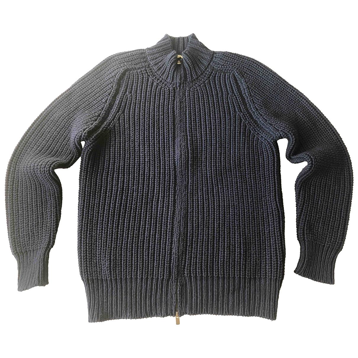 American Vintage \N Navy Wool Knitwear & Sweatshirts for Men M International