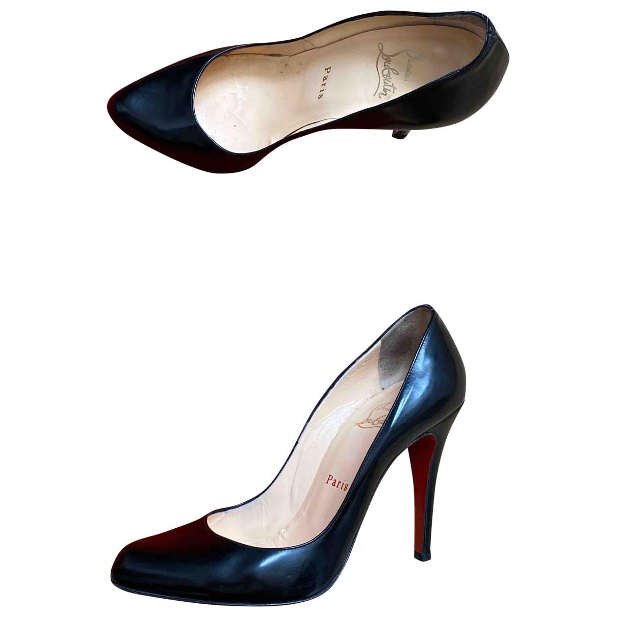 Christian Louboutin - Escarpins Simple pump pour femme en cuir - noir