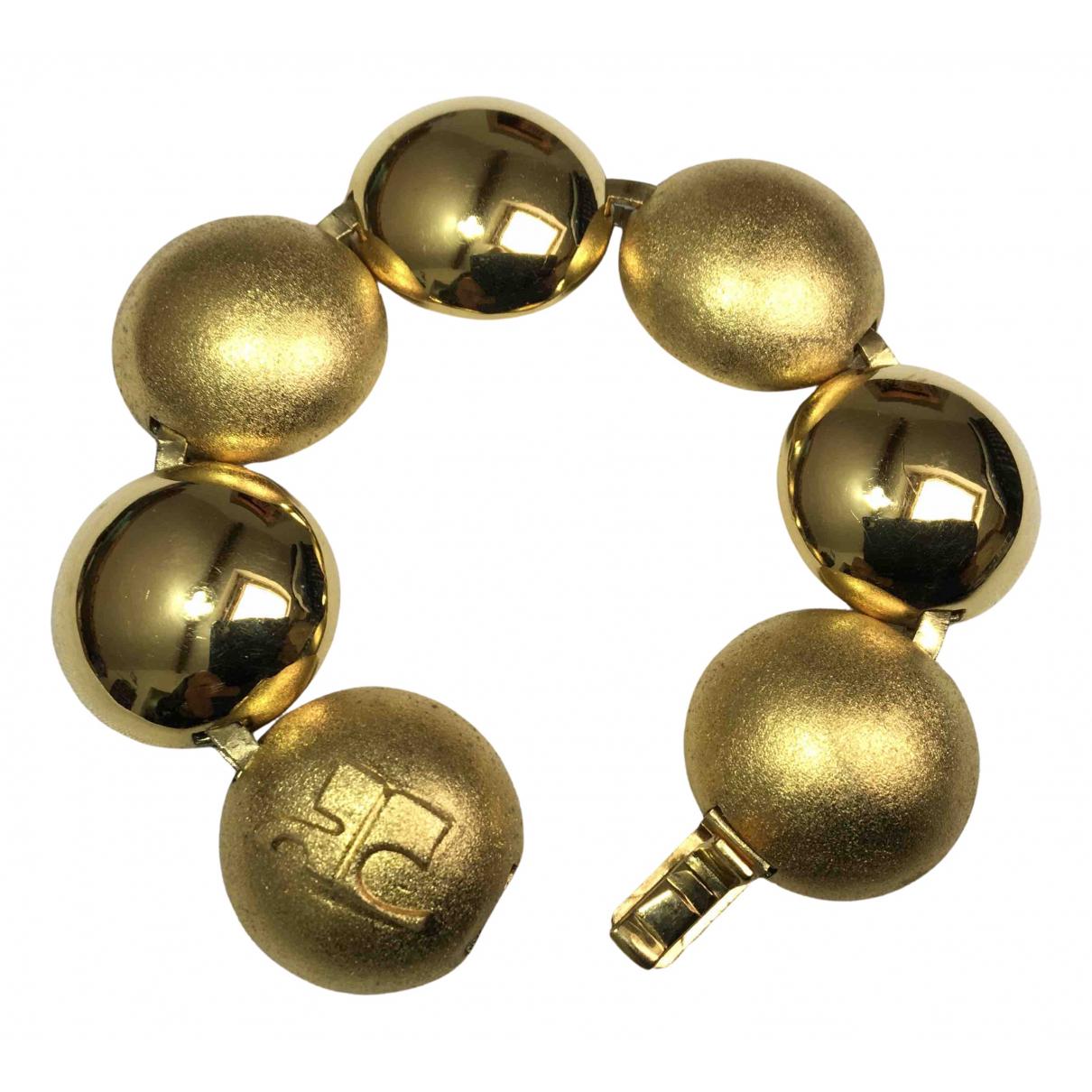 Courrèges N Gold Gold plated bracelet for Women N