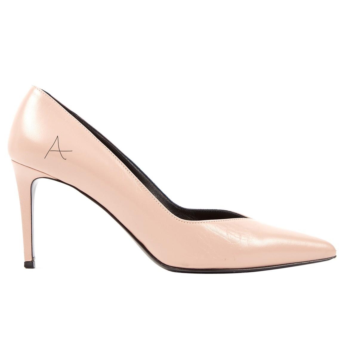 Zara \N Anthracite Glitter Ballet flats for Women 42 EU