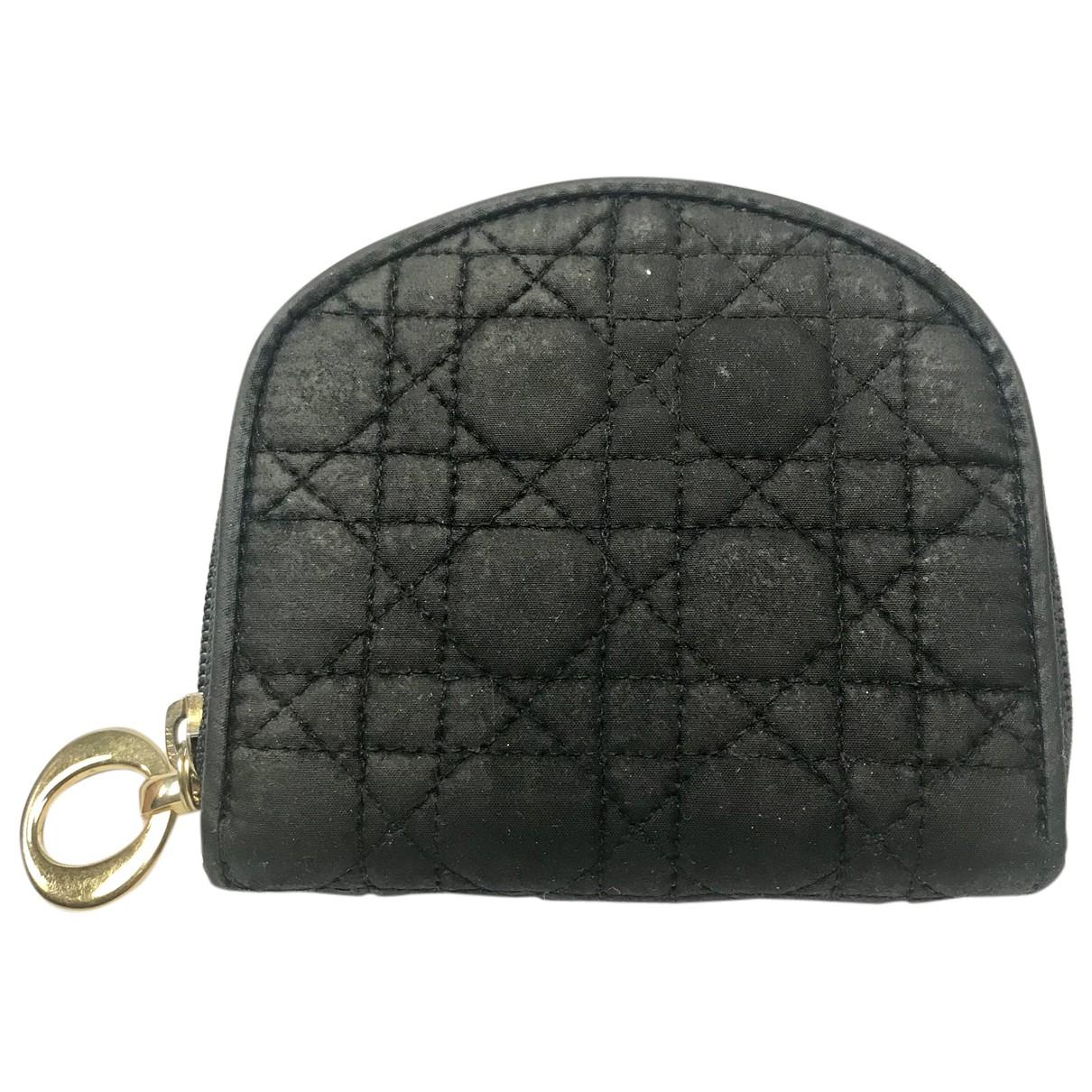 Dior N Black Cloth Purses, wallet & cases for Women N
