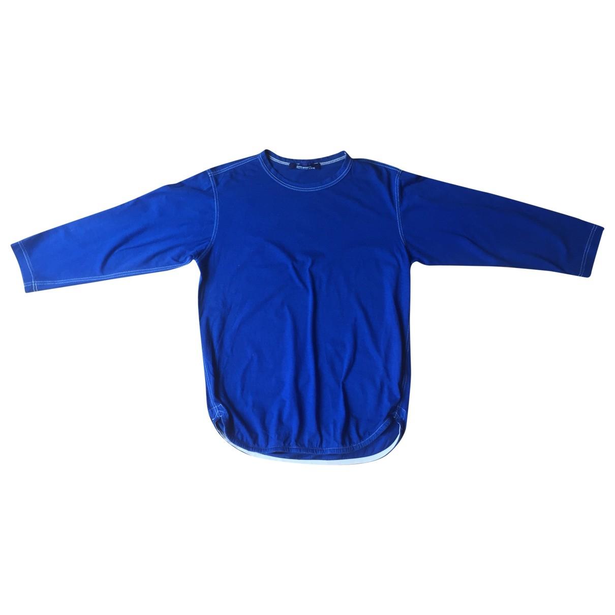 Junya Watanabe \N Blue Cotton T-shirts for Men S International