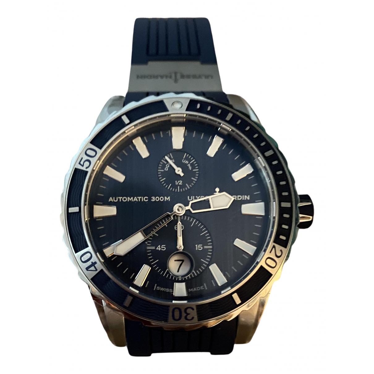 Ulysse Nardin N Blue Steel watch for Men N