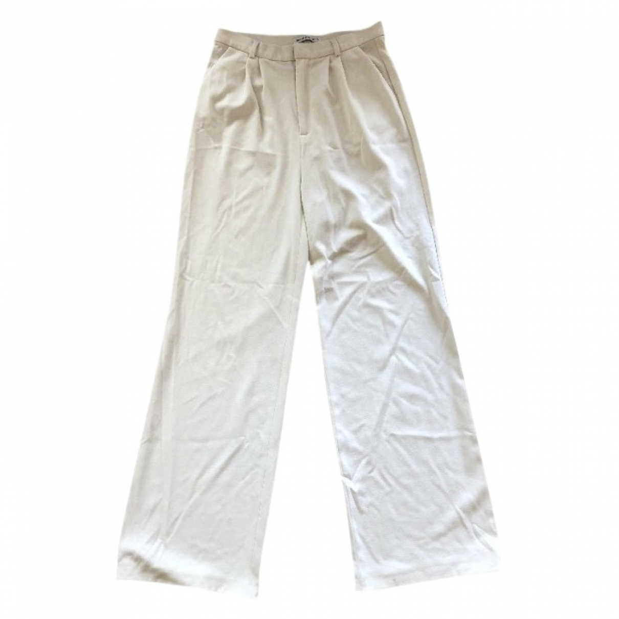 Rodebjer \N White Cotton Trousers for Women M International