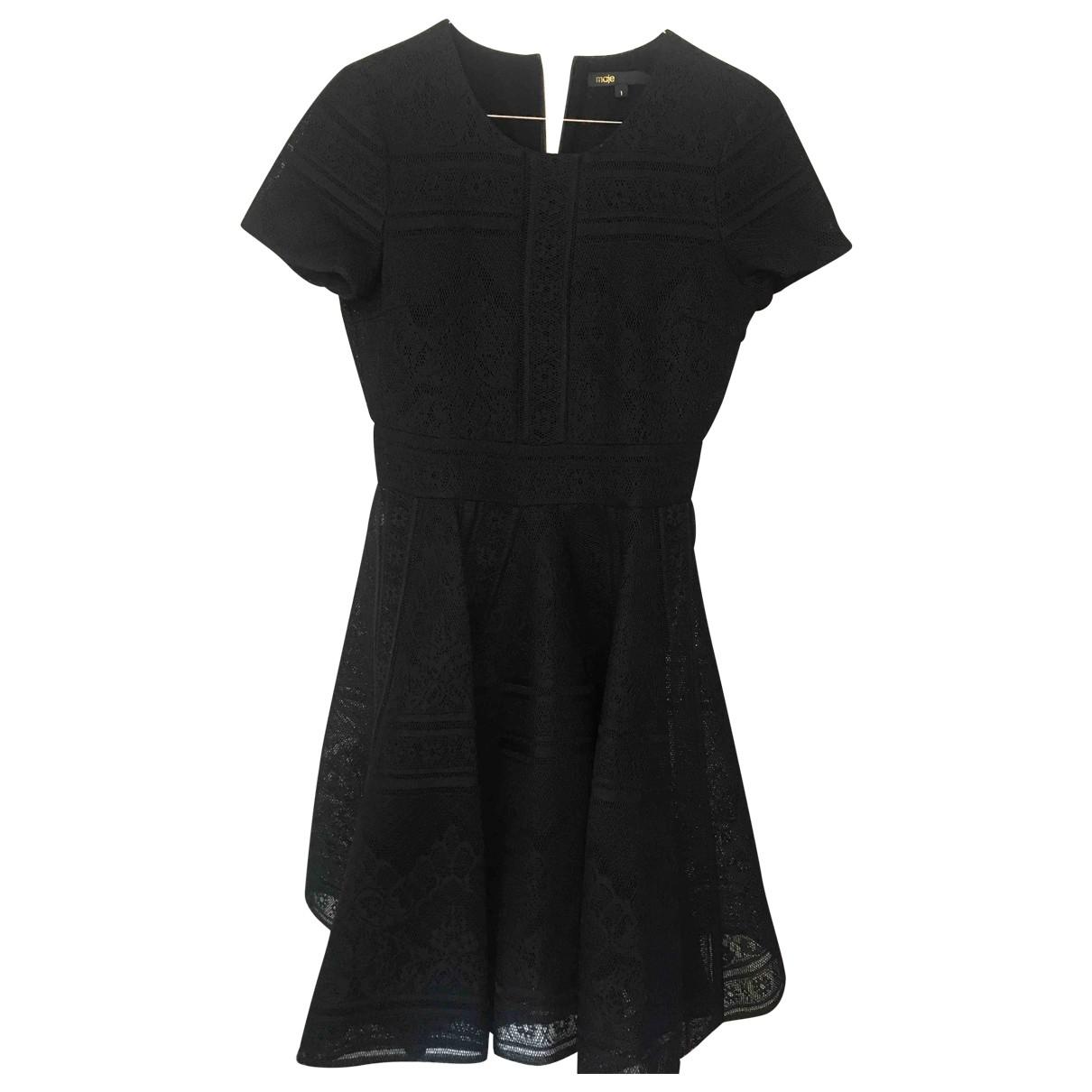 Maje \N Black Lace dress for Women 34 FR