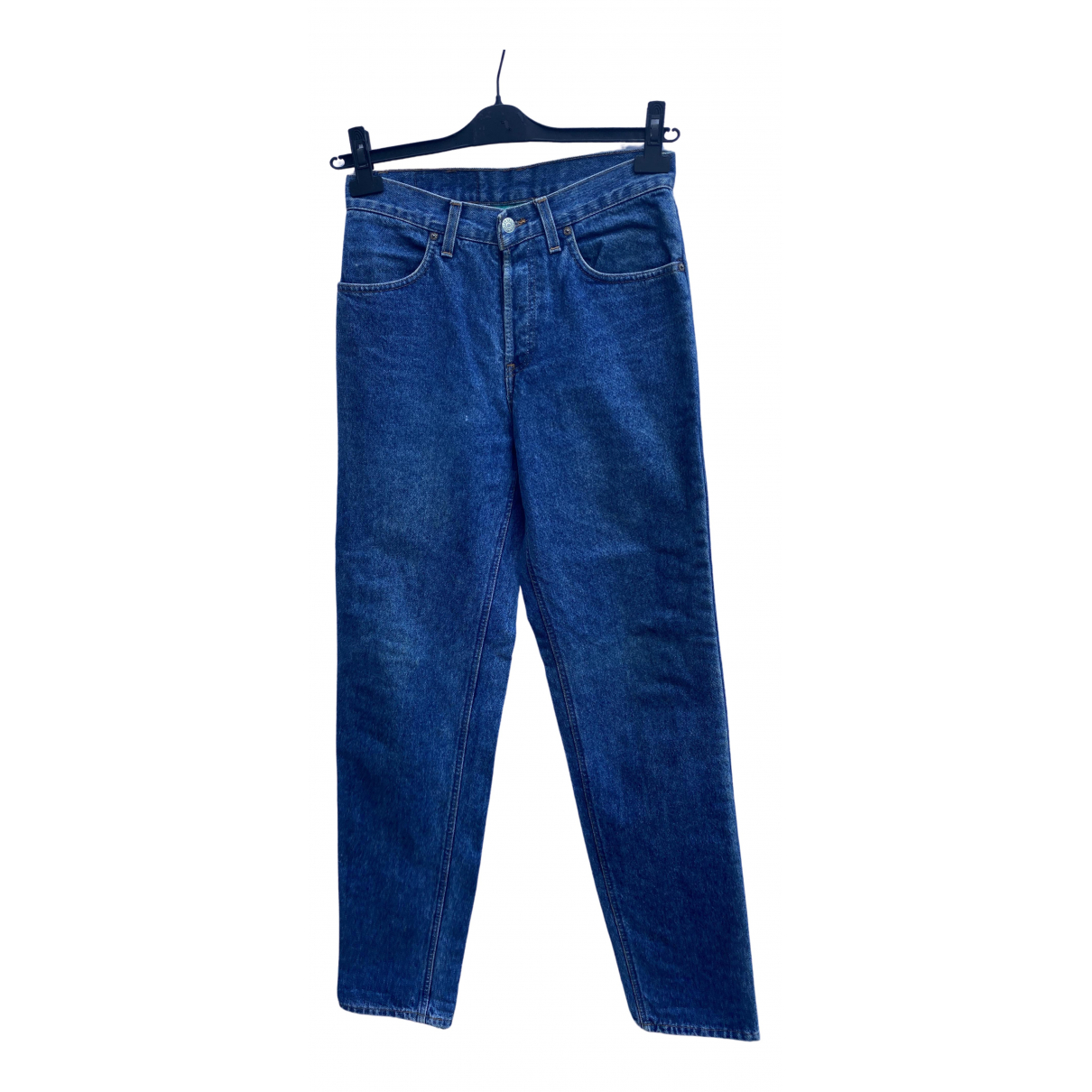 Levi's Vintage Clothing \N Blue Cotton Jeans for Women 35 FR
