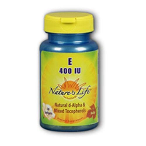 Vitamin E d-Alpha & Mixed Tocopherols 250 softgels by Nature's Life