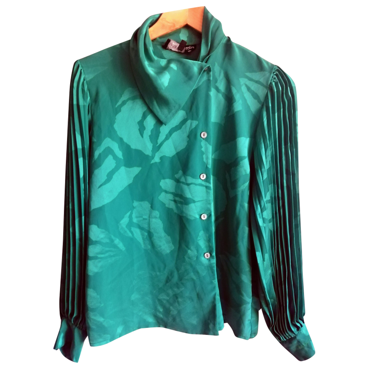 Pierre Cardin \N Green  top for Women 10 UK