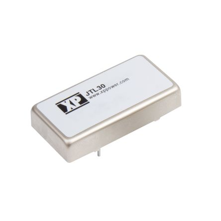 XP Power JTL 30W Isolated DC-DC Converter Through Hole, Voltage in 9 → 36 V dc, Voltage out 3.3V dc