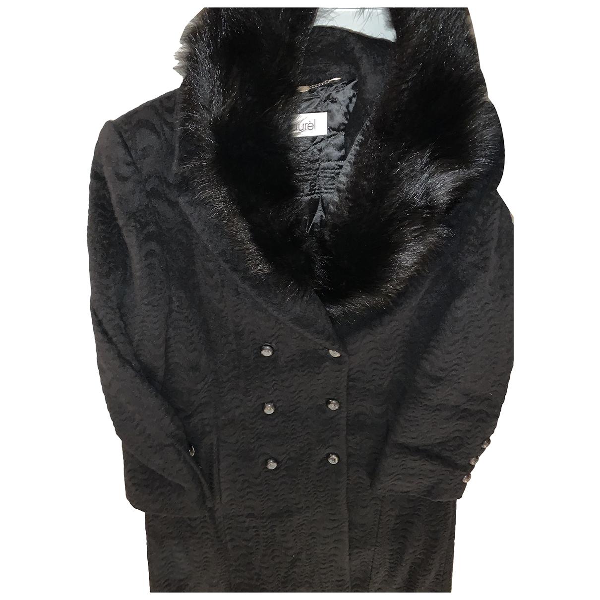 Laurel N Black Wool coat for Women 38 IT