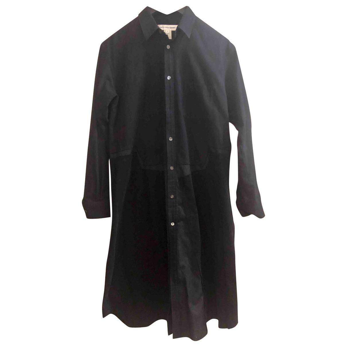 Comme Des Garcons \N Kleid in  Schwarz Baumwolle