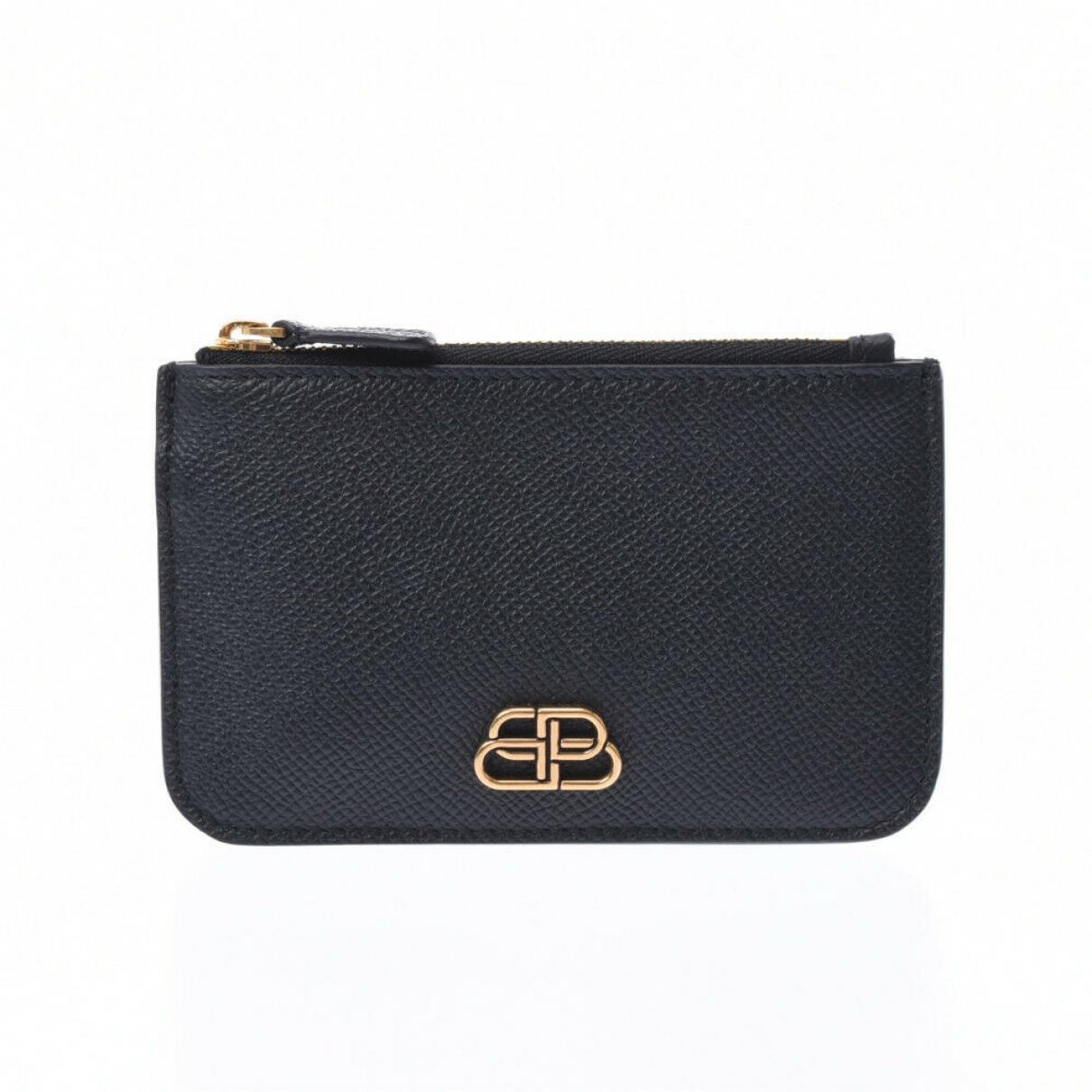 Balenciaga - Petite maroquinerie   pour femme en cuir - noir
