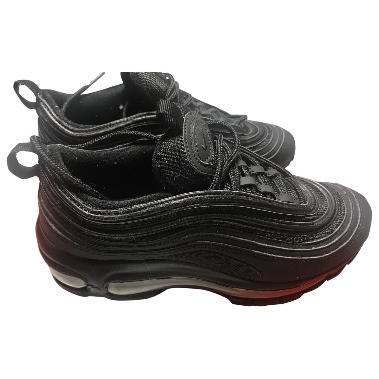 Nike Air Max 97 Black Cloth Trainers for Kids 36 EU