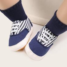 Baby Jungen Sneakers mit Streifen Muster