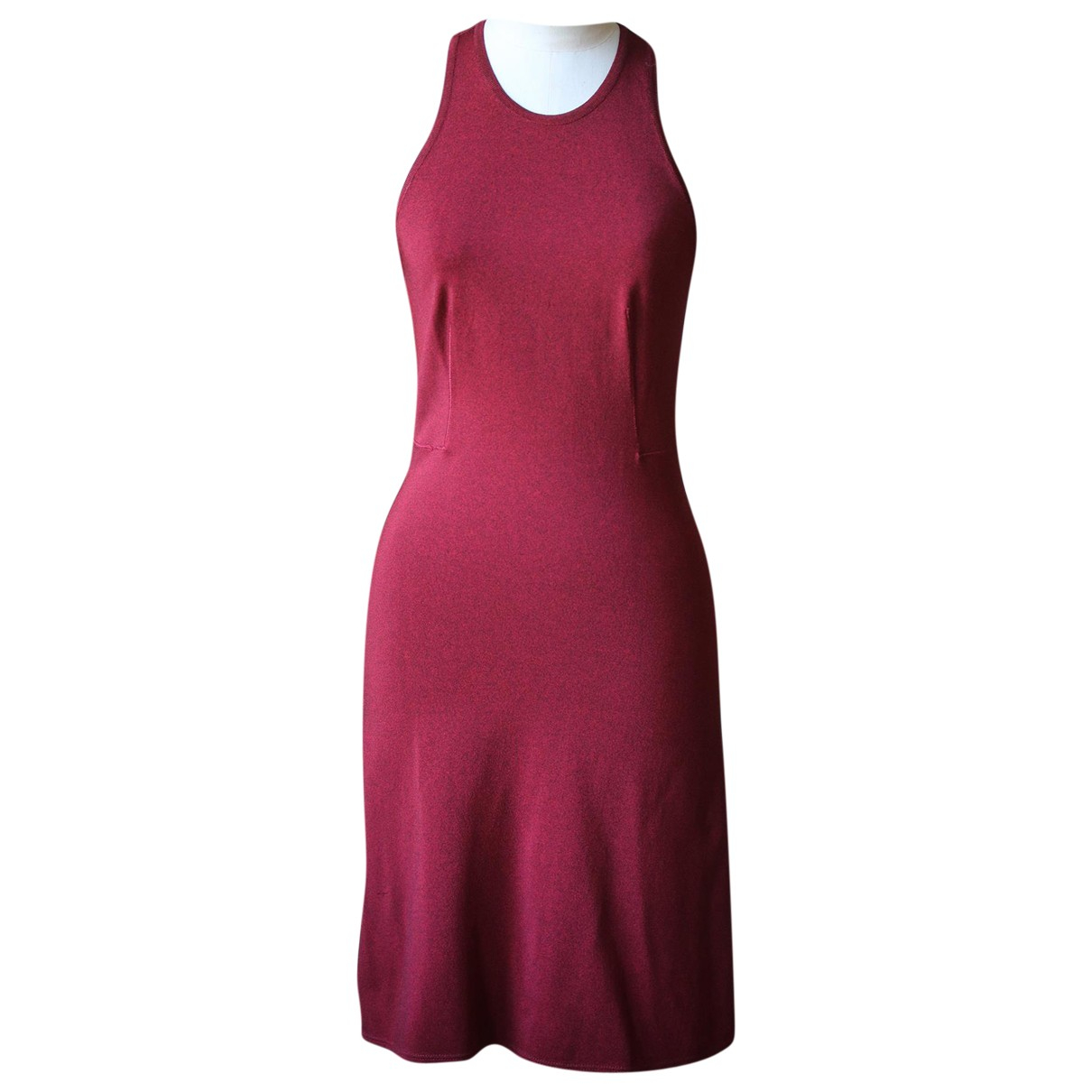 Alaia \N Kleid in  Rot Viskose