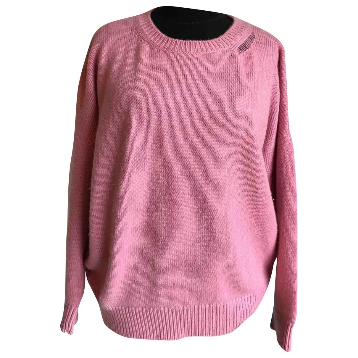Saint Laurent \N Pink Cashmere Knitwear for Women L International