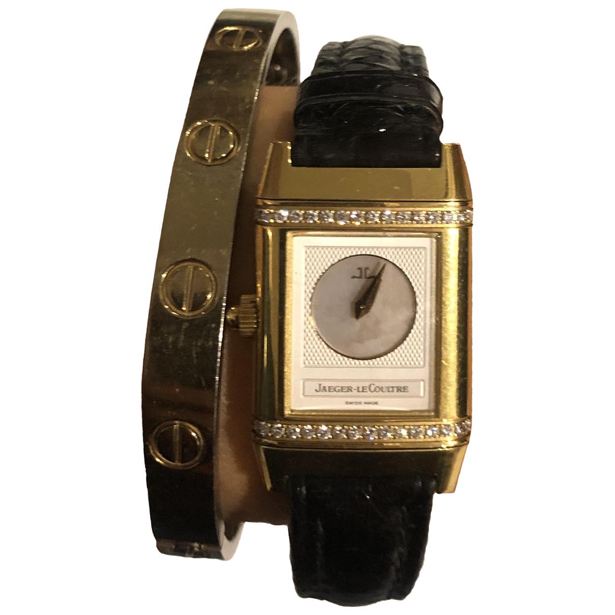 Reloj Reverso Duetto de Oro amarillo Jaeger-lecoultre