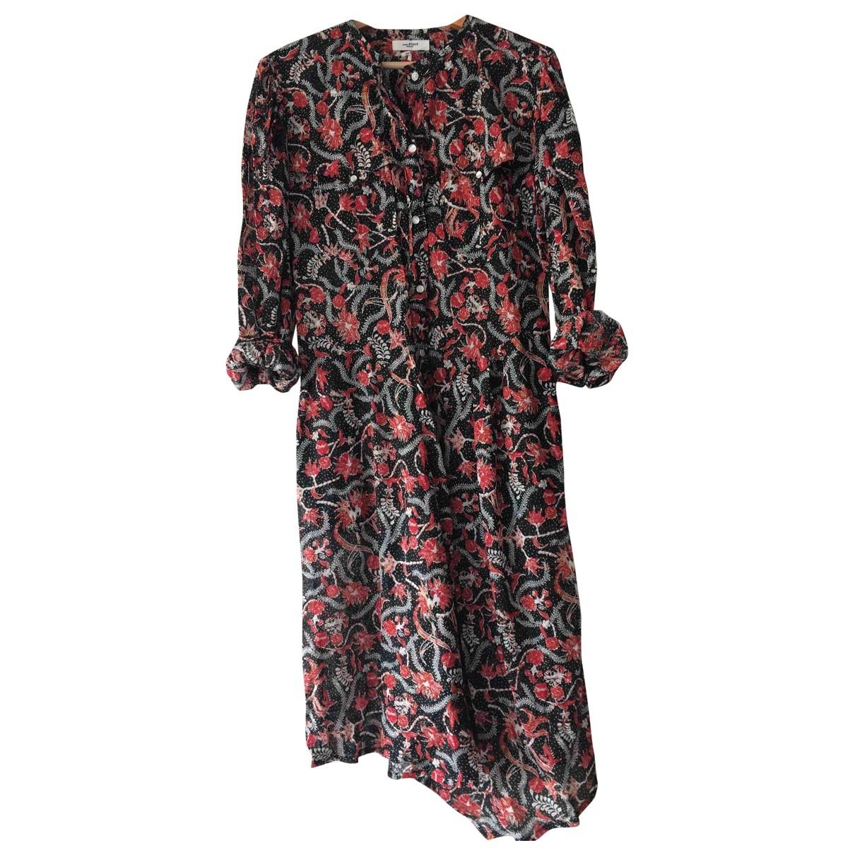 Isabel Marant Etoile \N Kleid in  Bunt Baumwolle