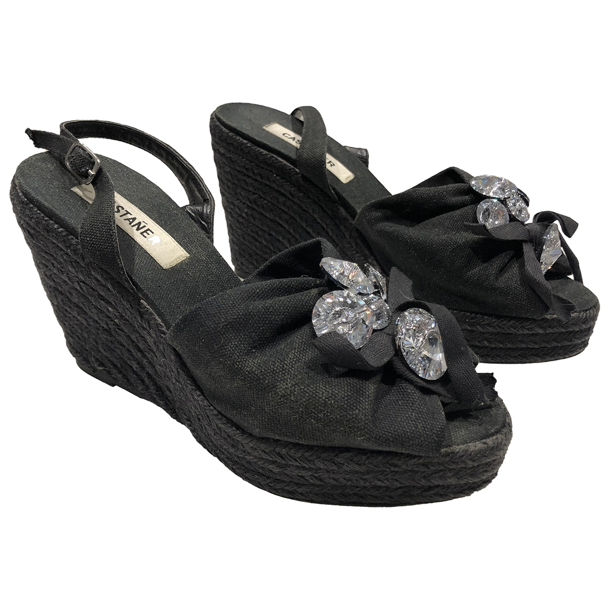 Castaner \N Black Cloth Espadrilles for Women 38 EU