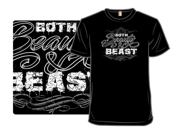 Beauty And Beast T Shirt