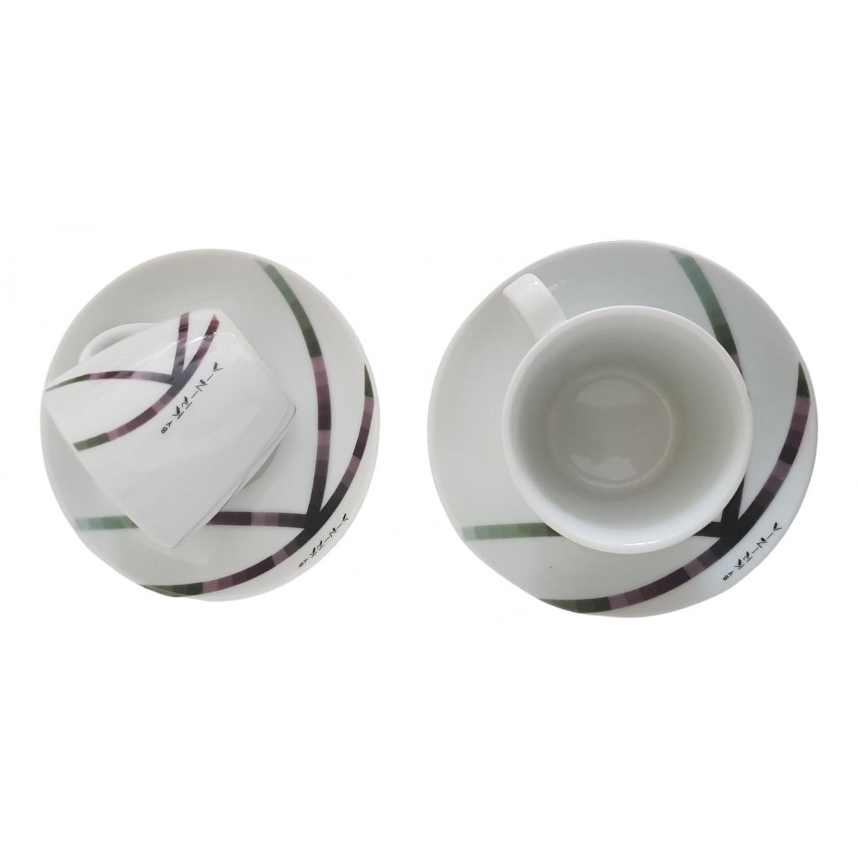 Krizia - Arts de la table   pour lifestyle en porcelaine - blanc