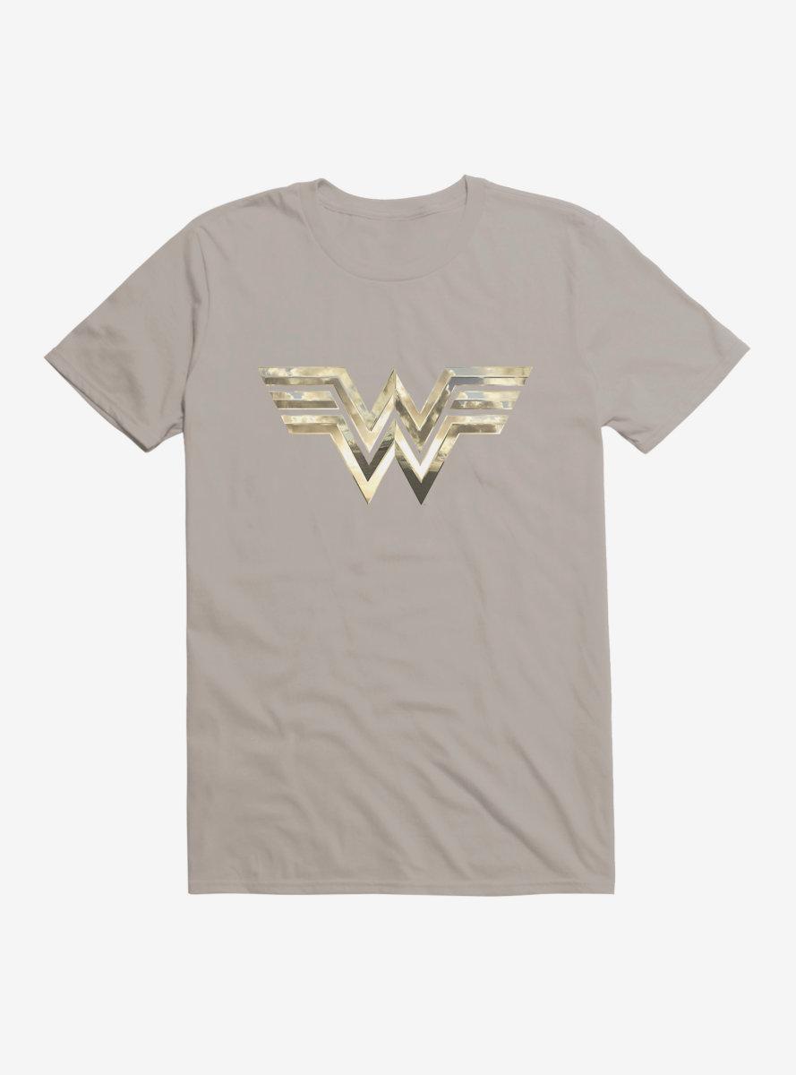 DC Comics Wonder Woman 1984 Bold Plated Logo T-Shirt