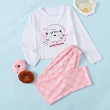 Homewear de Niñas A cuadros Dulce