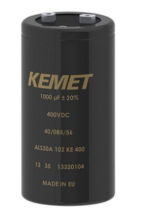 KEMET 3300μF Electrolytic Capacitor 500V dc, Screw Mount - ALS30A332QP500 (8)