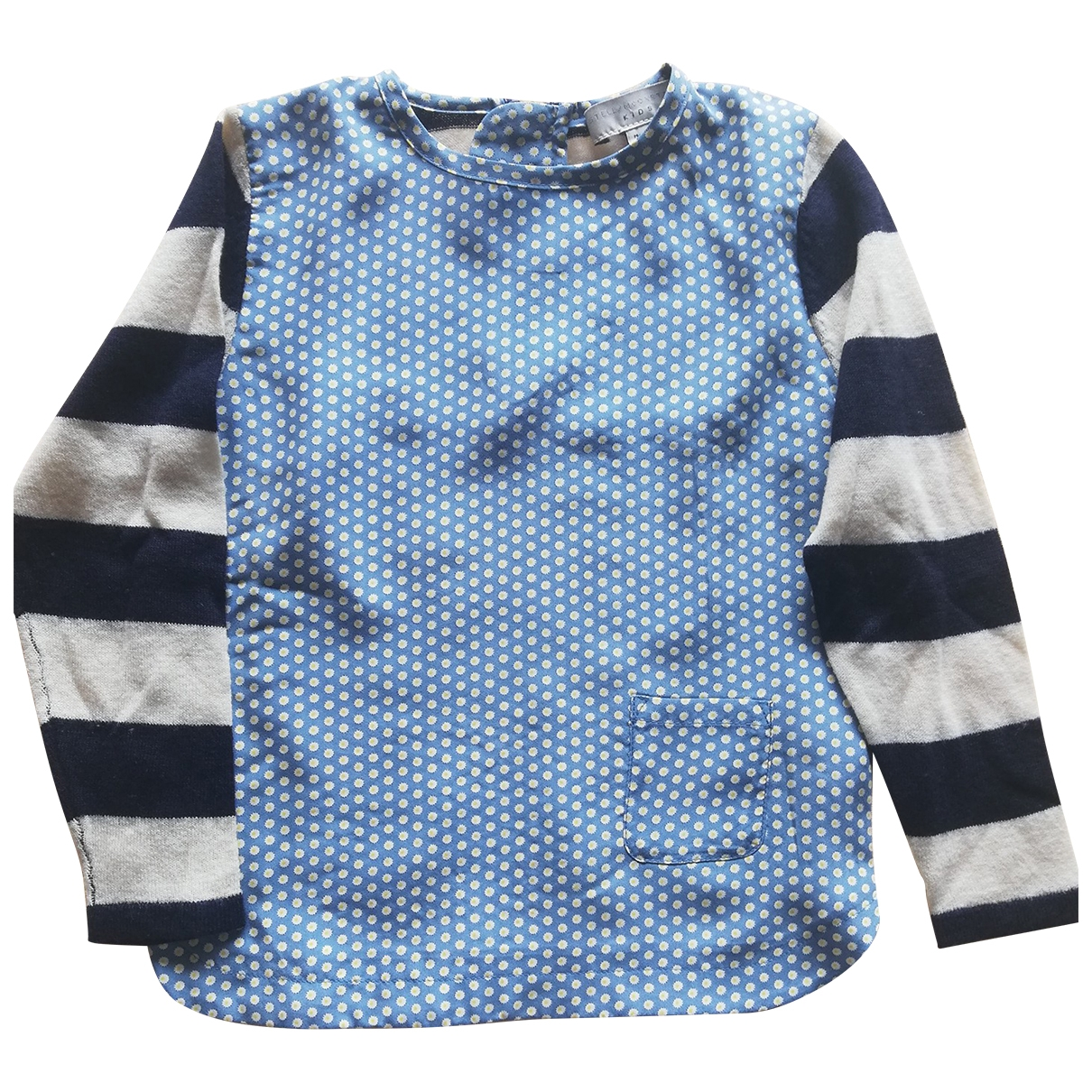 Stella Mccartney Kids - Pull   pour enfant en soie - multicolore