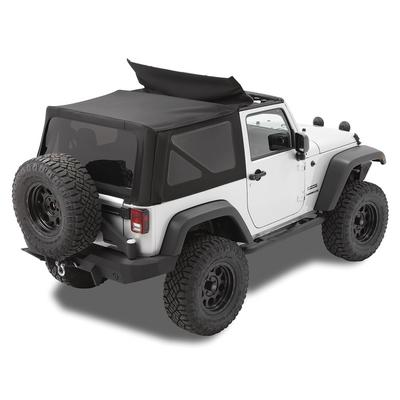 Bestop Replace-a-Top with Tinted Windows (Matte Black Twill) - 79846-17