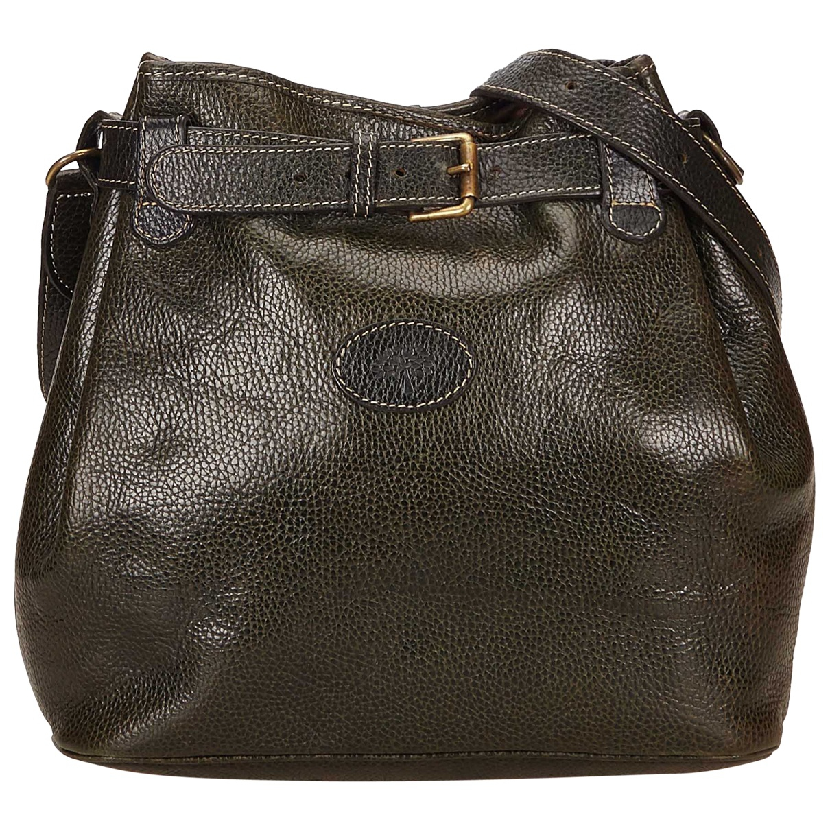 Mulberry \N Green Leather handbag for Women \N