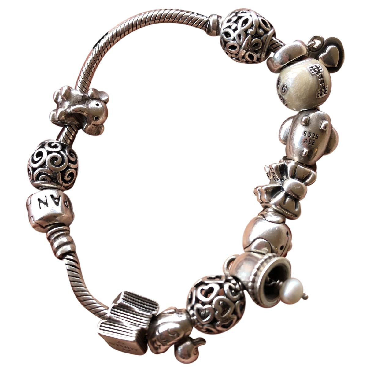Pandora \N Armband in  Silber Silber