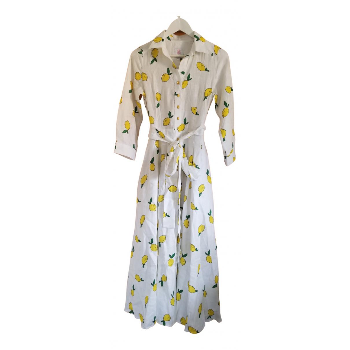 Gul Hurgel N White Linen dress for Women S International