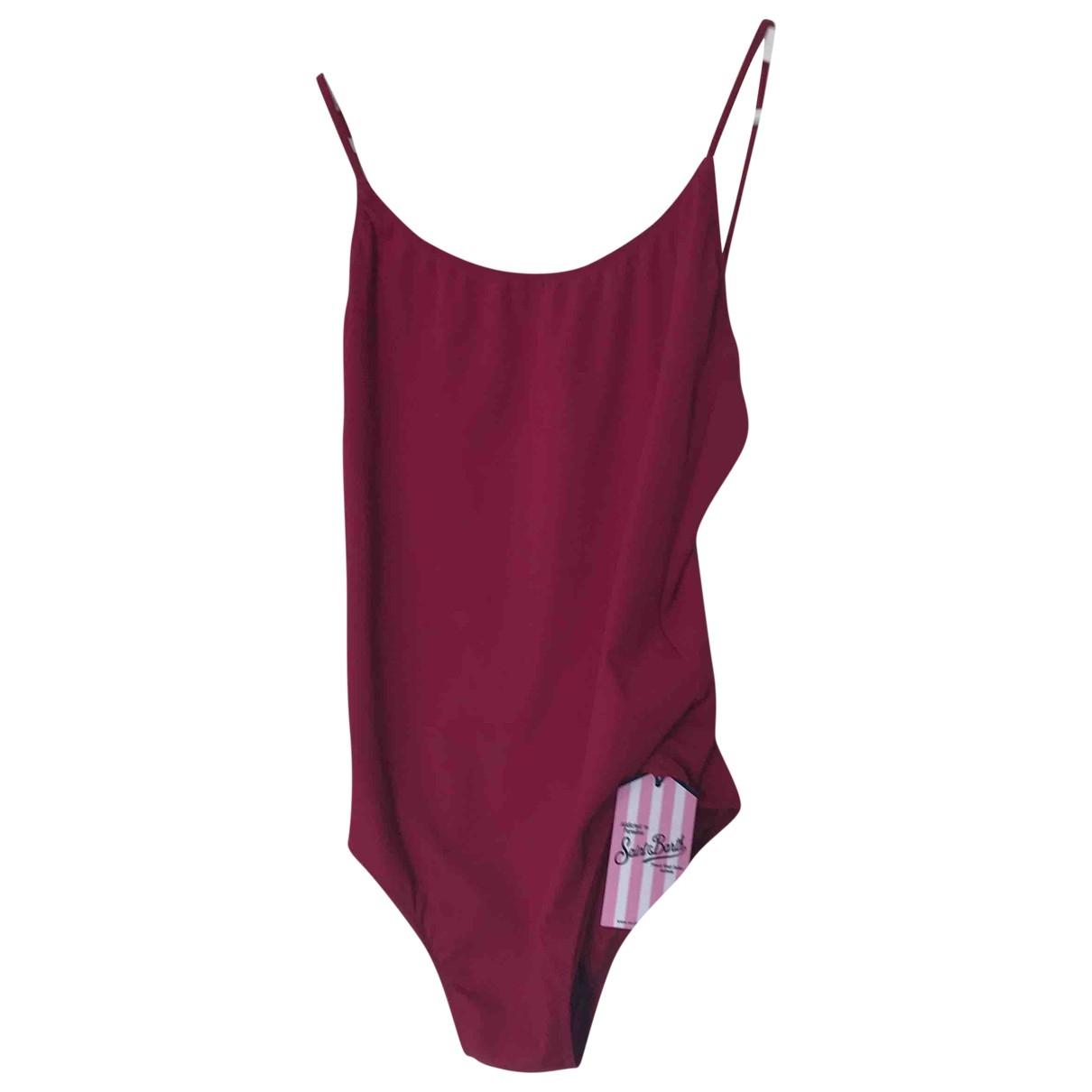 Mc2 Saint Barth \N Burgundy Swimwear for Women M International