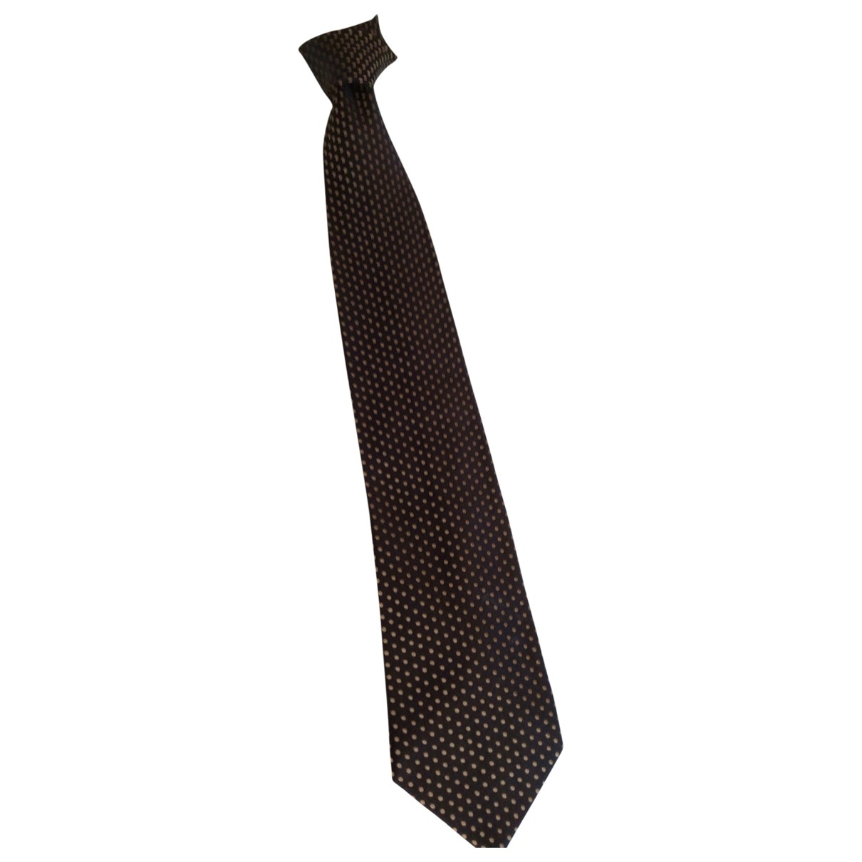 Charvet \N Black Silk Ties for Men \N