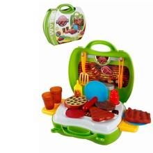 25 Stuecke Kleinkind Kinder Barbecue Kuechenspielzeug