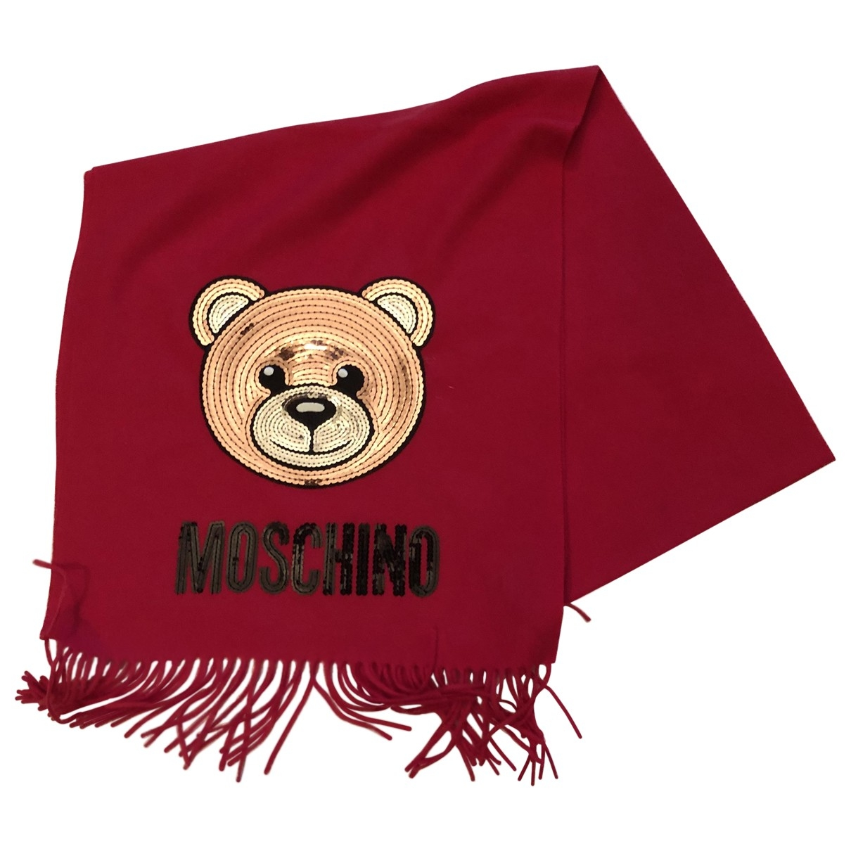 Moschino \N Red Wool scarf for Women \N