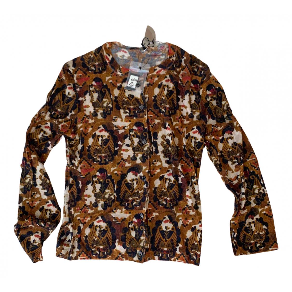 Bottega Veneta N Brown Cashmere Knitwear for Women 38 IT