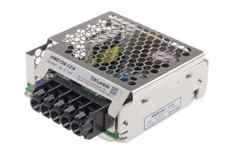 TDK-Lambda , 15W Embedded Switch Mode Power Supply SMPS, 12V dc, Enclosed