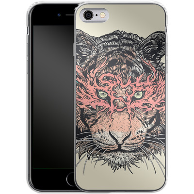 Apple iPhone 6s Silikon Handyhuelle - Masked Tiger von Mat Miller