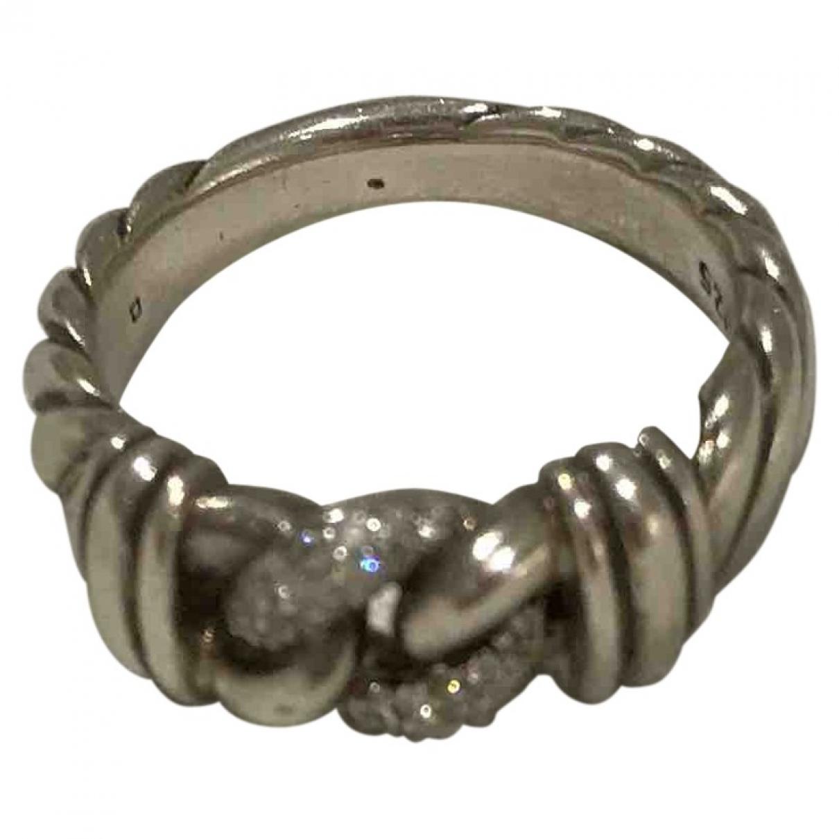 David Yurman \N Silver Silver ring for Women 56 MM