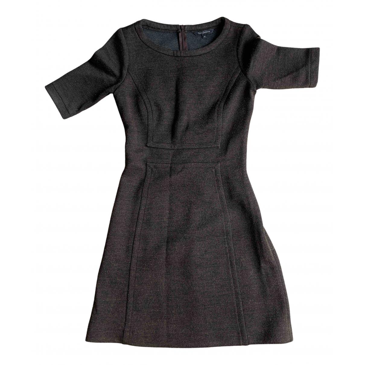 Tara Jarmon \N Kleid in  Braun Wolle