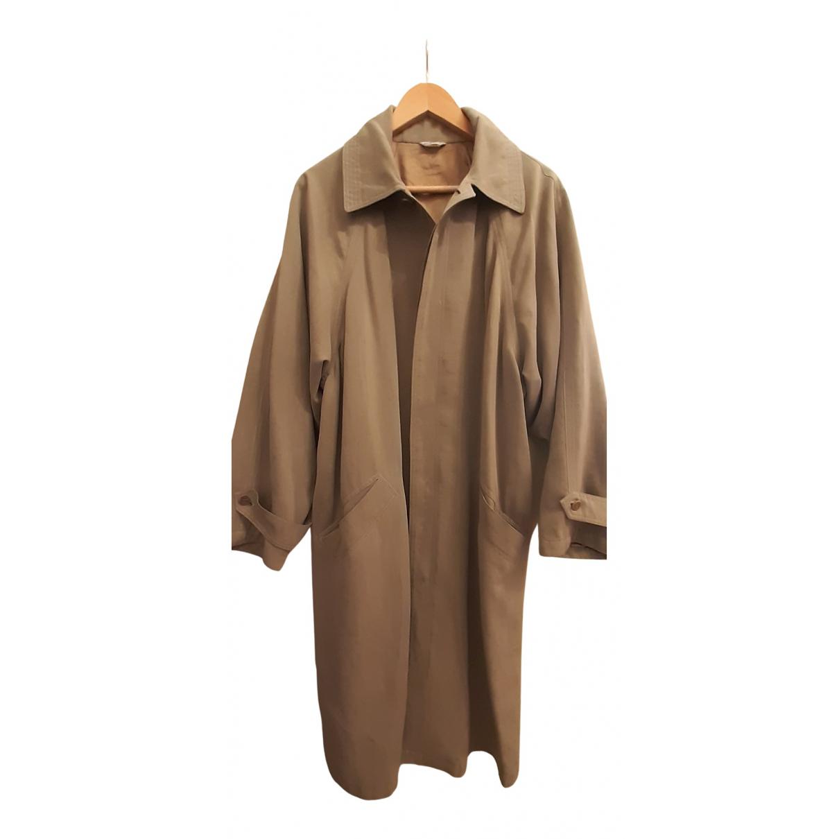 Gianni Versace N Beige Wool coat  for Men 46 IT