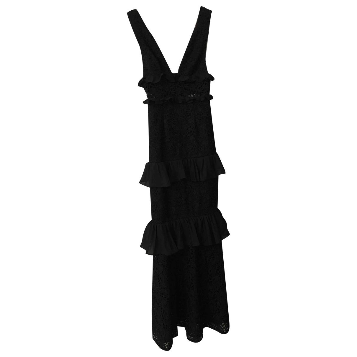 Amur \N Kleid in  Schwarz Spitze