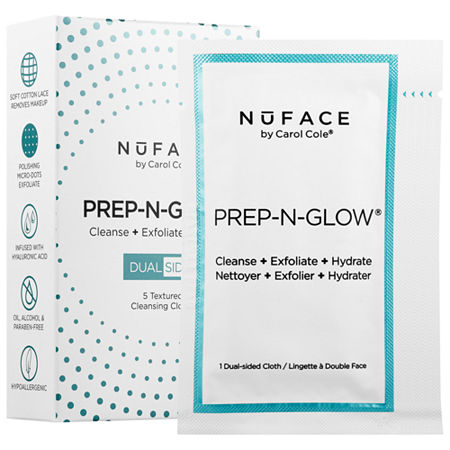 NuFACE Prep-N-Glow™ Cloths, One Size , Multiple Colors