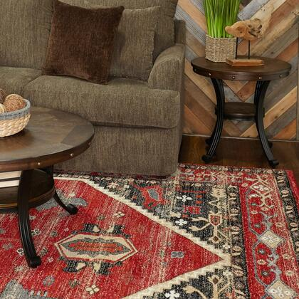 RUGSE0258 5 x 8 Rectangle Area Rug in