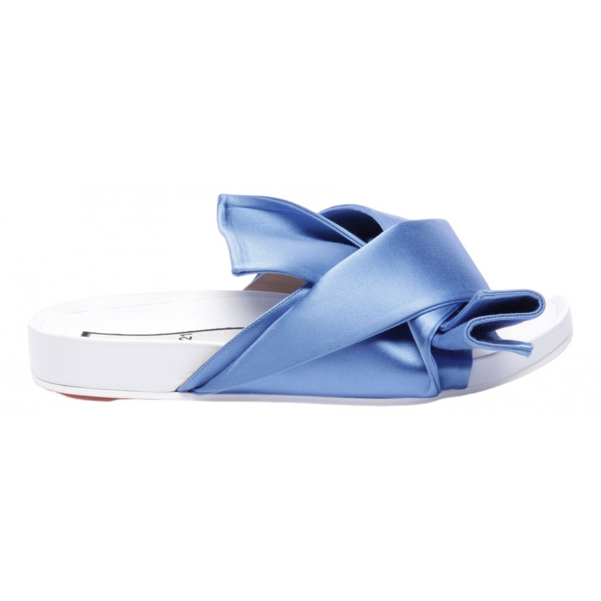 N°21 \N Sandalen in  Blau Leder